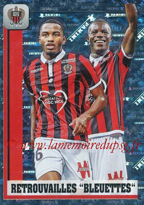 2018-19 - Panini Ligue 1 Stickers - N° 325 - Retrouvailles Bleuettes (Nice)