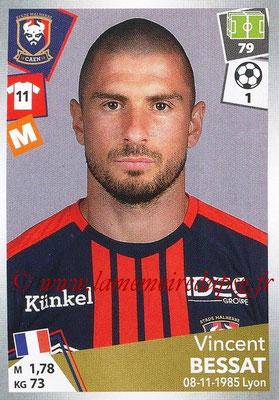 2017-18 - Panini Ligue 1 Stickers - N° 088 - Vincent BESSAT (Caen)