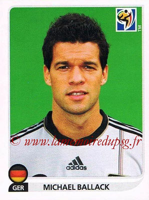 2010 - Panini FIFA World Cup South Africa Stickers - N° 268 - Michael BALLACK (Allemagne)