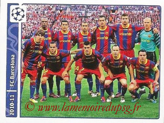 2014-15 - Panini Champions League N° 342 - 2010-11 - FC Barcelone