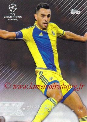 2015-16 - Topps UEFA Champions League Showcase Soccer - N° 178 - Eran ZAHAVI (Maccabi Tel-Aviv FC)