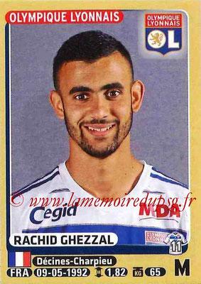 2015-16 - Panini Ligue 1 Stickers - N° 207 - Rachid GHEZZAL (Olympique Lyonnais)
