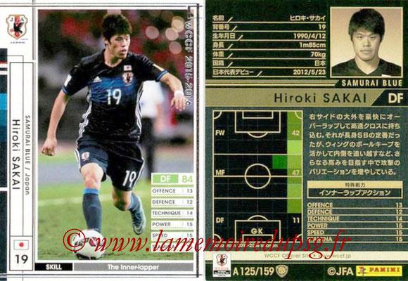 2015-16 - Panini WCCF - N° A125 - Hiroki SAKAI (Japon)