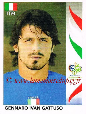 2006 - Panini FIFA World Cup Germany Stickers - N° 332 - Gennaro Ivan GATTUSO (Italie)