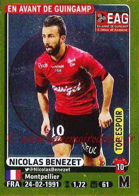 2015-16 - Panini Ligue 1 Stickers - N° 139 - Nicolas BENEZET (Guingamp) (Top espoir)