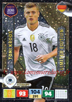2018 - Panini Road to FIFA World Cup Russia Adrenalyn XL - N° LE-TK - Toni KROOS (Allemagne) (Limited Edition)