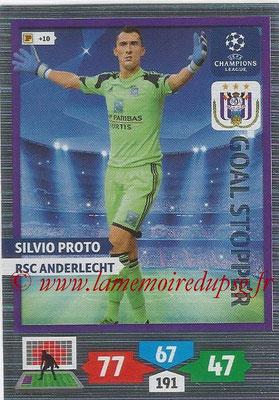 2013-14 - Adrenalyn XL champions League N° 317 - Silvio PROTO (RSC Anderlecht) (Goal Stopper)