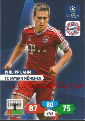 2013-14 - Adrenalyn XL champions League N° 083 - Philipp LAHM (FC Bayern Munich)