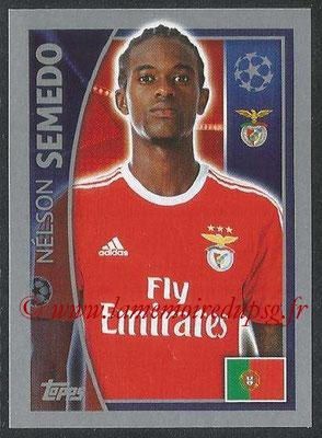 2015-16 - Topps UEFA Champions League Stickers - N° 166 - Nélson SEMEDO (SL Benfica)