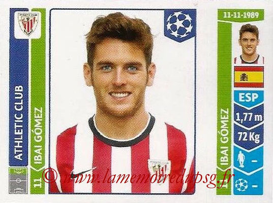 2014-15 - Panini Champions League N° 613 - Ibai GOMEZ (Athletic Club Bilbao)