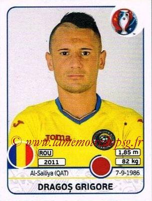 Panini Euro 2016 Stickers - N° 053 - Dragos GRIGORE (Roumanie)