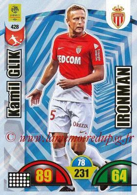2018-19 - Panini Adrenalyn XL Ligue 1 - N° 428 - Kamil GLIK (Monaco) (Ironman)