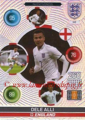 Panini England 2016 Adrenalyn XL - N° 113