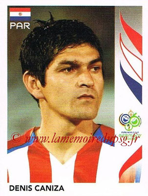 2006 - Panini FIFA World Cup Germany Stickers - N° 116 - Denis CANIZA (Paraguay)