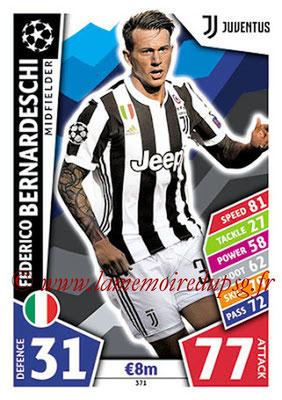 2017-18 - Topps UEFA Champions League Match Attax - N° 371 - Federico BERNARDESCHI (Juventus)