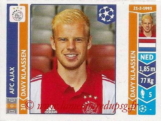 2014-15 - Panini Champions League N° 458 - Davy KLAASSEN (AFC Ajax)