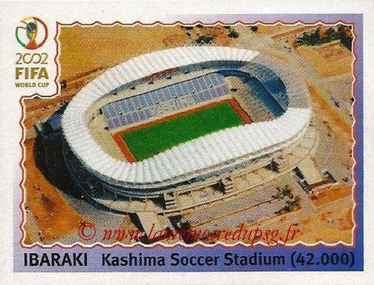 2002 - Panini FIFA World Cup Stickers - N° 016 - Stade Ibaraki (Kashima Soccer Stadium)