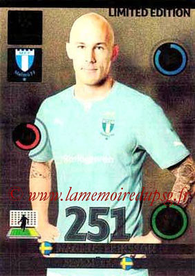 2014-15 - Adrenalyn XL champions League N° LE-ME - Magnus ERIKSSON (Malmo FF) (Limited Edition)