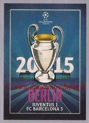2015-16 - Topps UEFA Champions League Stickers - N° 607 - UEFA Champions League Final 2014-15