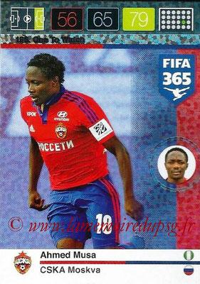 2015-16 - Panini Adrenalyn XL FIFA 365 - N° 186 - Ahmed MUSA (CSKA Moscou) (One to Watch)