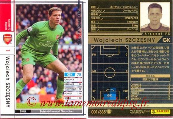 2013-14 - WCCF - N° 001 - Wojciech SZCZESNY (Arsenal FC)