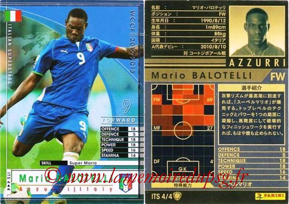 2012-13 - WCCF - N° ITS4 - Mario BALOTELLI (Italie)