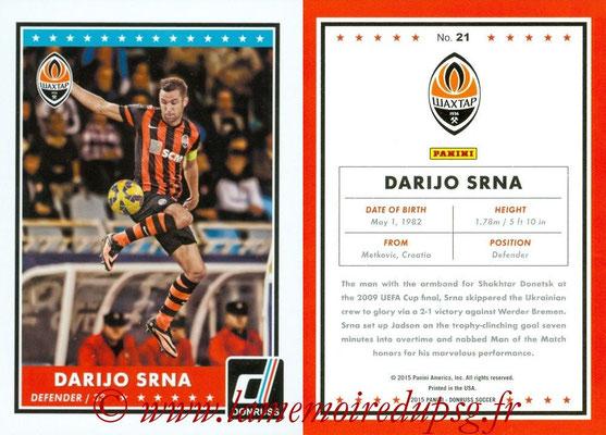 2015 - Panini Donruss Soccer - N° 021 - Darijo SRNA (Shakhtar Donetsk)