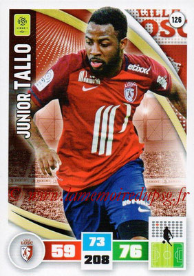 2016-17 - Panini Adrenalyn XL Ligue 1 - N° 126 - Junior TALLO (Lille)