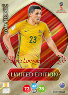 2018 - Panini FIFA World Cup Russia Adrenalyn XL - N° LE-TR - Tom ROGIC (Australie) (Limited Edition)