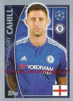 2015-16 - Topps UEFA Champions League Stickers - N° 451 - Gary CAHILL (Chelsea FC)