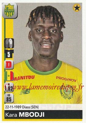 2018-19 - Panini Ligue 1 Stickers - N° 282 - Kara MBODJI (Nantes)
