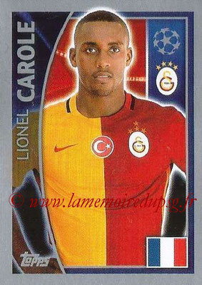 2015-16 - Topps UEFA Champions League Stickers - N° 197 - Lionel CAROLE (Galatasaray AS)