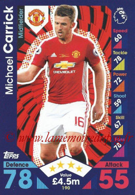 2016-17 - Topps Match Attax Premier League - N° 190