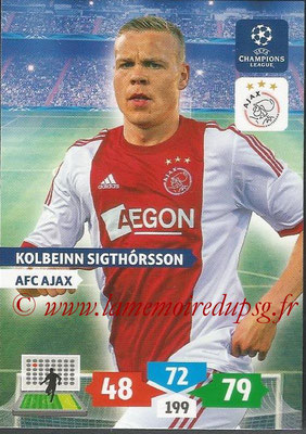 2013-14 - Adrenalyn XL champions League N° 035 - Kolbeinn SIGTHORSSON (AFC Ajax)