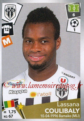 2017-18 - Panini Ligue 1 Stickers - N° 035 - Lassana COULIBALY (Angers)