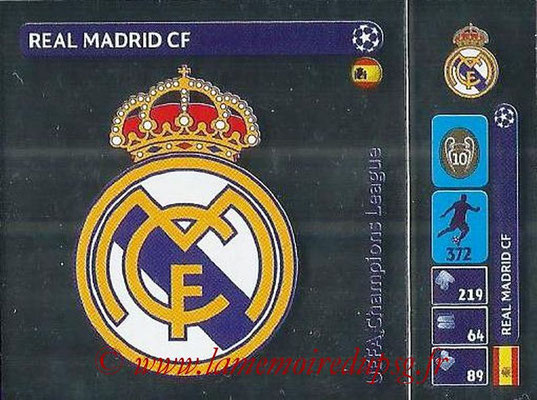 2014-15 - Panini Champions League N° 009 - Logo Real Madrid CF
