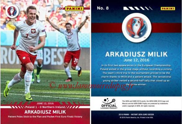 Panini Instant Euro 2016 - N° 008 - Arkadiusz MILIK
