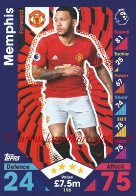 2016-17 - Topps Match Attax Premier League - N° 196