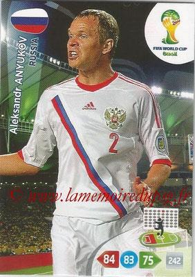 2014 - Panini FIFA World Cup Brazil Adrenalyn XL - N° 283 - Aleksandr ANYUKOV (Russie)