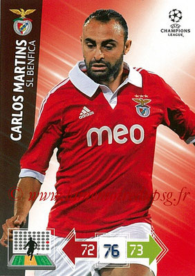 2012-13 - Adrenalyn XL champions League N° 062 - Carlos MARTINS (SL Benfica)