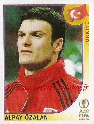 2002 - Panini FIFA World Cup Stickers - N° 192 - Alpay OZALAN (Turquie)