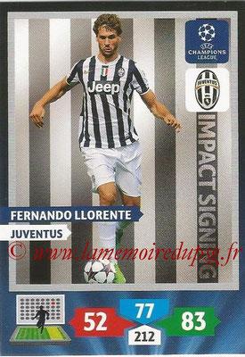 2013-14 - Adrenalyn XL champions League N° 275 - Fernando LLORENTE (Juventus) (Impact Signing)