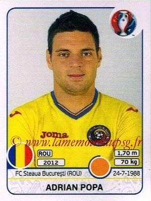 Panini Euro 2016 Stickers - N° 064 - Adrian POPA (Roumanie)
