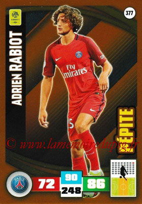 2016-17 - Panini Adrenalyn XL Ligue 1 - N° 377 - Adrien RABIOT (Paris Saint-Germain) (Pepite)