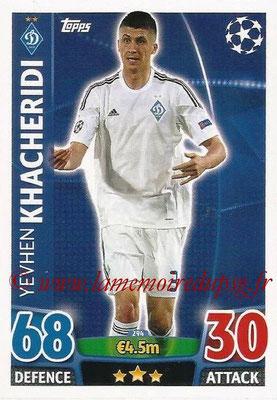 2015-16 - Topps UEFA Champions League Match Attax - N° 294 - Yevhen KHACHERIDI (FC Dynamo Kiev)