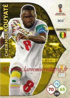 2018 - Panini FIFA World Cup Russia Adrenalyn XL - N° 303 - Cheikhou KOUYATE (Senegal)