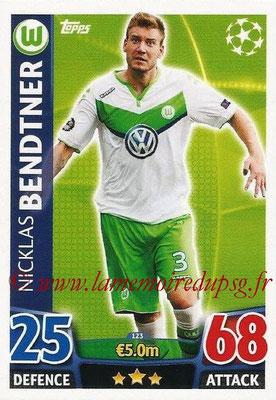 2015-16 - Topps UEFA Champions League Match Attax - N° 123 - Nicklas BENDTNER (VFL Wolfsburg)