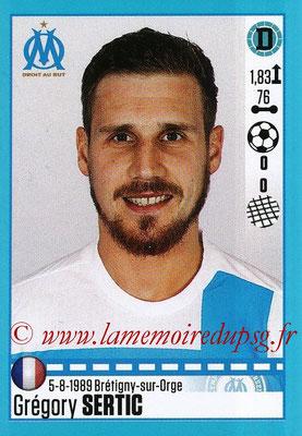 2016-17 - Panini Ligue 1 Stickers - N° T23 - Grégory SERTIC (Marseille) (Set Transfert)