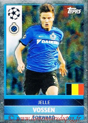 2016-17 - Topps UEFA Champions League Stickers - N° BRU 3 - Jelle VOSSEN (Club Bruges)