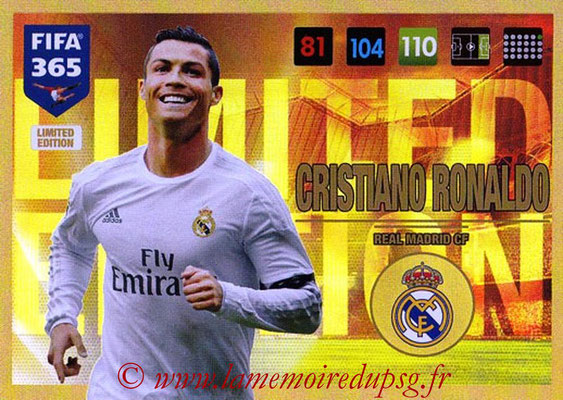 2016-17 - Panini Adrenalyn XL FIFA 365 - N° LE13 - Cristiano RONALDO (Real Madrid CF) (Limited Edition)